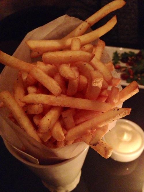 BCB frites + garlic aioli